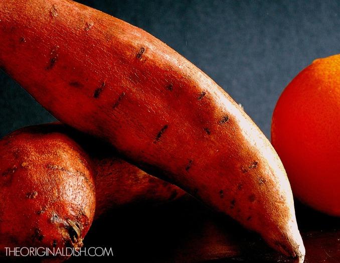 Spicy Orange Glazed Sweet Potatoes 1