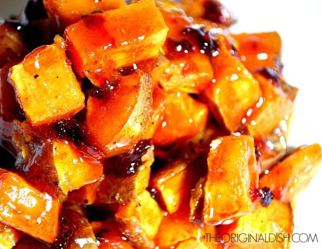 Spicy Orange Glazed Sweet Potatoes 3