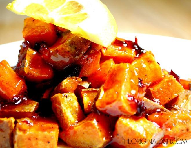 Spicy Orange Glazed Sweet Potatoes 5