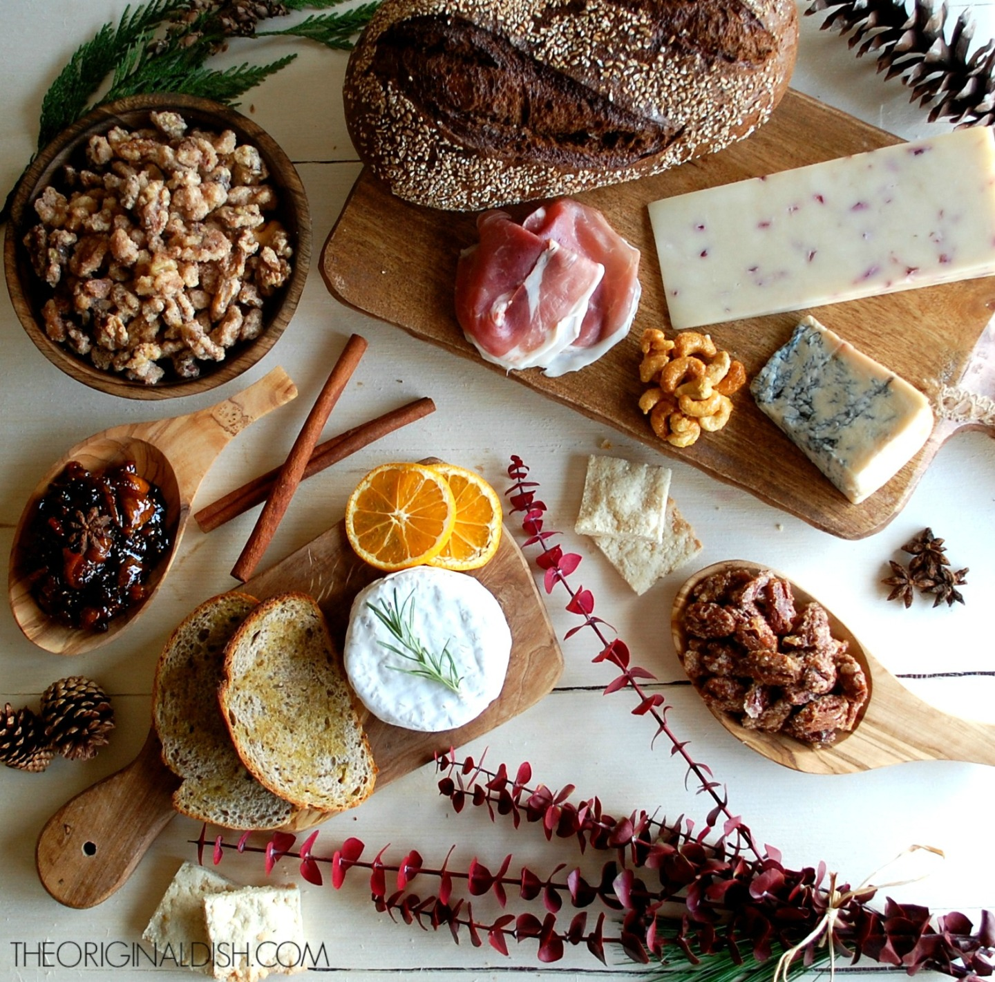 Christmas Appetizer Spread