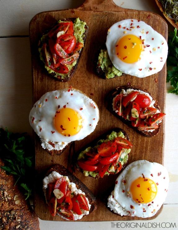 Egg Toasts